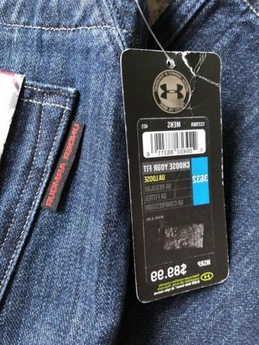Jeans Sz Leather Reinforced Pockets