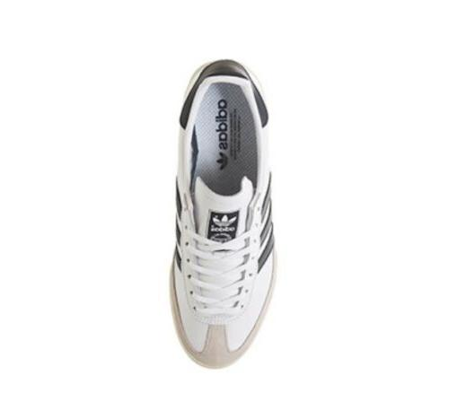 Adidas Originals - White & Clear Brown With Navy Blue Men's