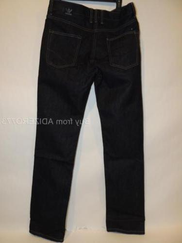 Adidas Slim Denim Mens Jeans M69212 Denim color $80