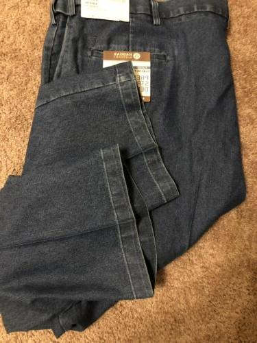"Haggar Pleated Classic Fit 30"" L Tall Jeans"