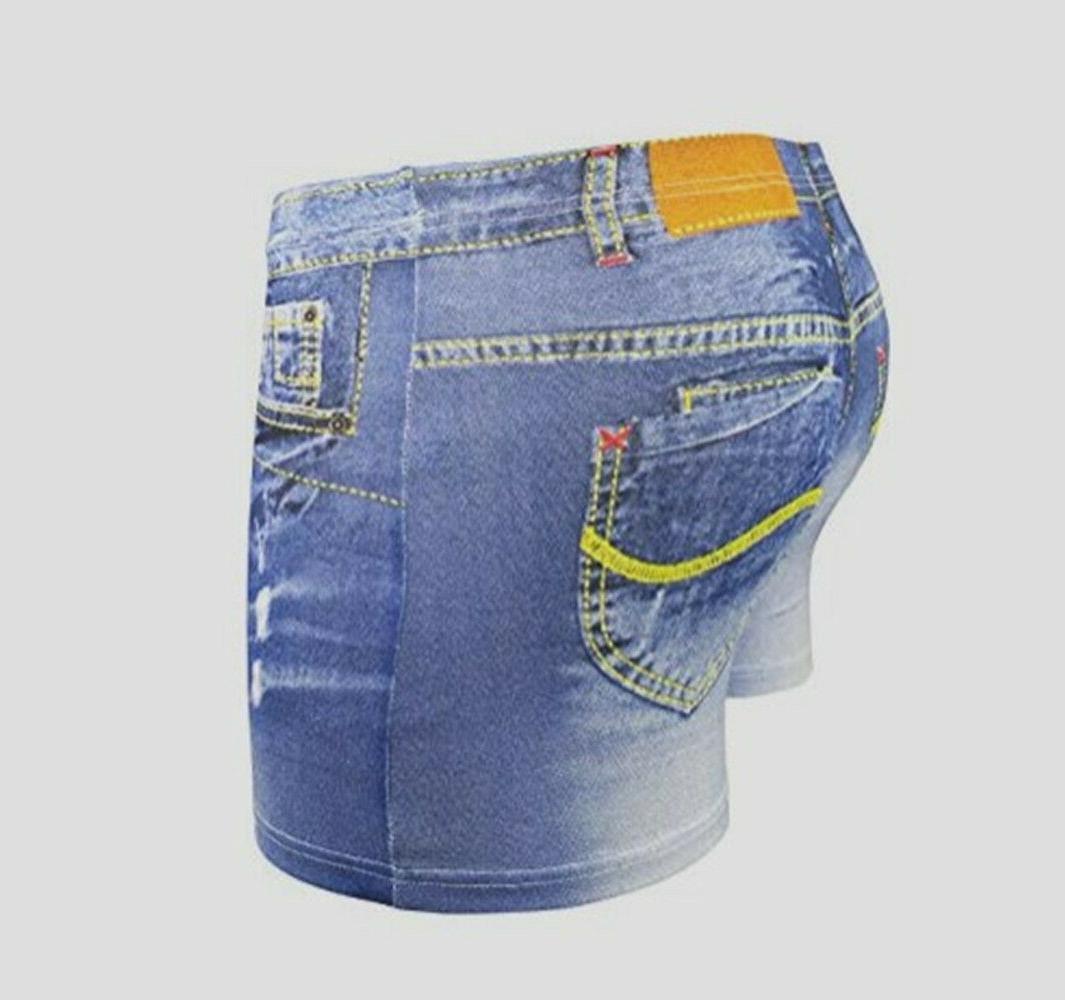 Plus Size 3D Cotton Boxer Trunks Underwear