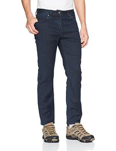 "prAna Bridger Jean 30"" Inseam Pants, Nautical, Size 34"