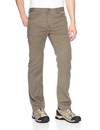 "prAna Bridger Jean 32"" Inseam Pants, Mud, Size 32"