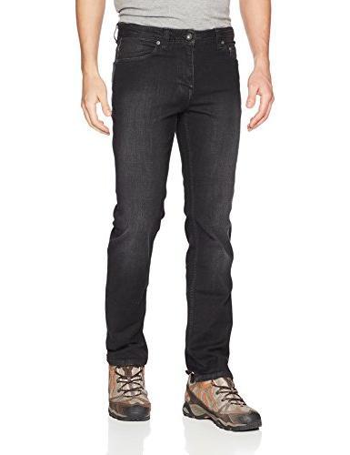 prAna Manchester Jean 32 inseam Pants, Black, Size 34