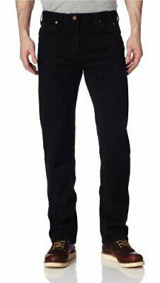 Dickies Men's Regular Straight Fit 6 Pocket Jean, Rinsed Ove