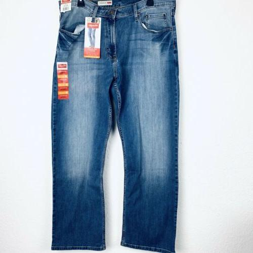 relaxed fit bootcut men jeans size 36x30
