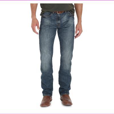 retro slim straight jeans