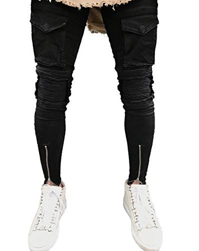 ripped skinny jeans slim fit