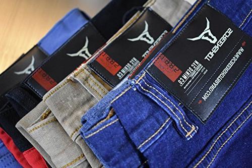 SCREENSHOTBRAND-P41810 Men's Biker Denim Pants Skinny Fahion Jeans-Dk Indigo-30