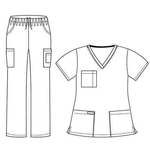 Dagacci Medical Uniform and Unisex and Pant,