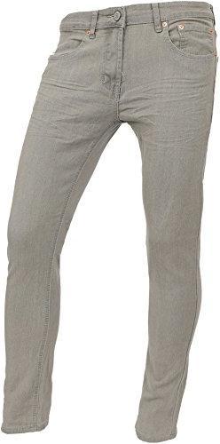 94d80349ec4 Hat and Beyond SI Mens Slim Jeans Stretch Super Skinny Fit D
