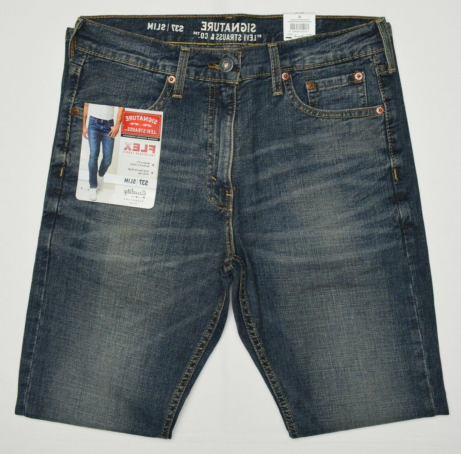 Signature By Levi Strauss & Co. Men S37 Slim