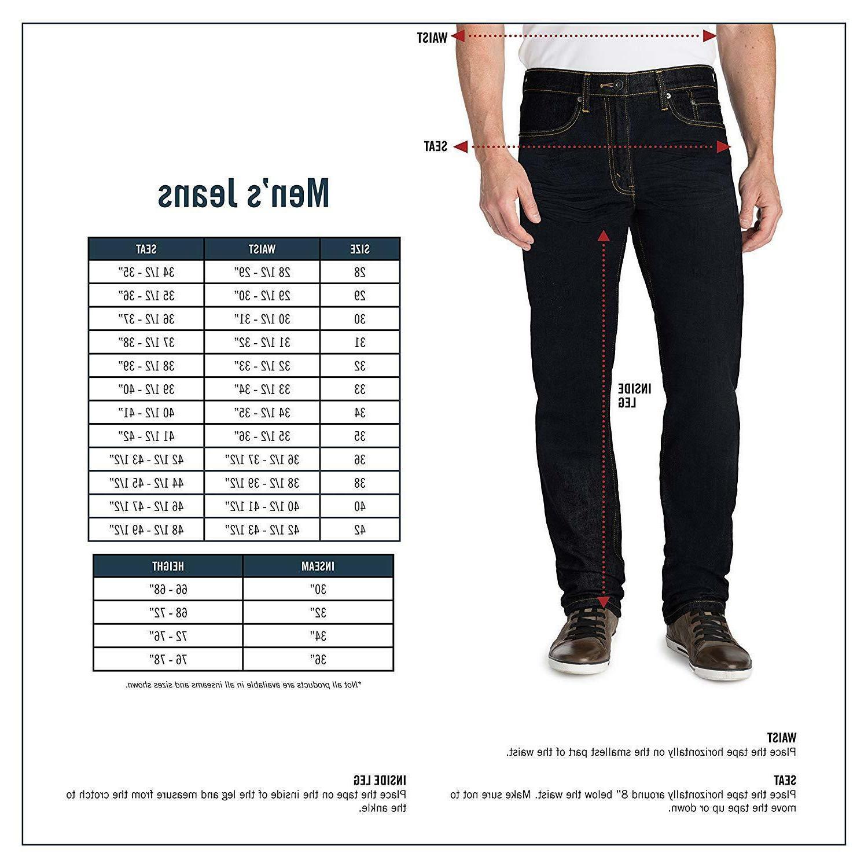 Signature & Co. Label Men's Fit Jeans