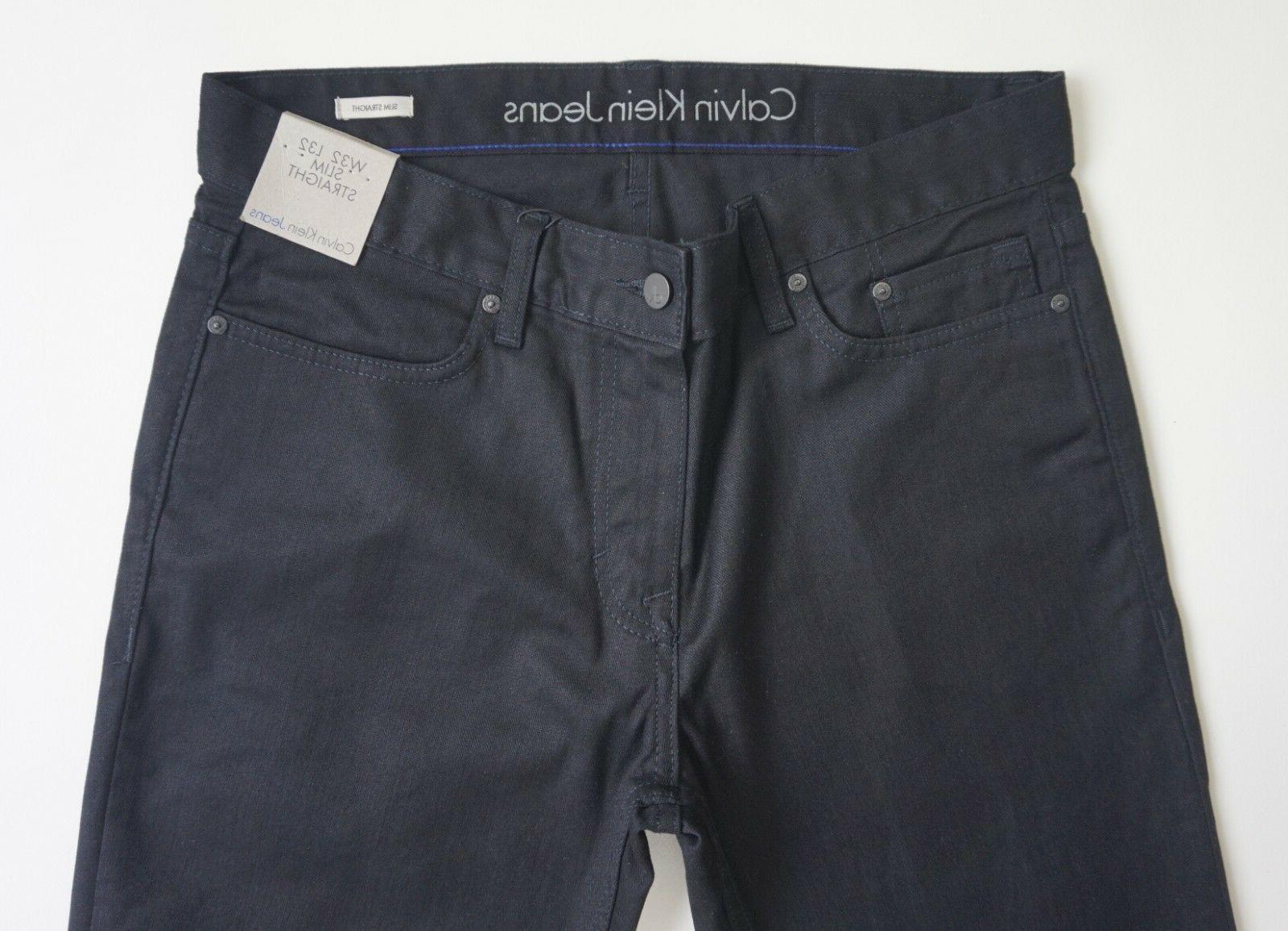 CALVIN LEG BLACK Men's, Authentic