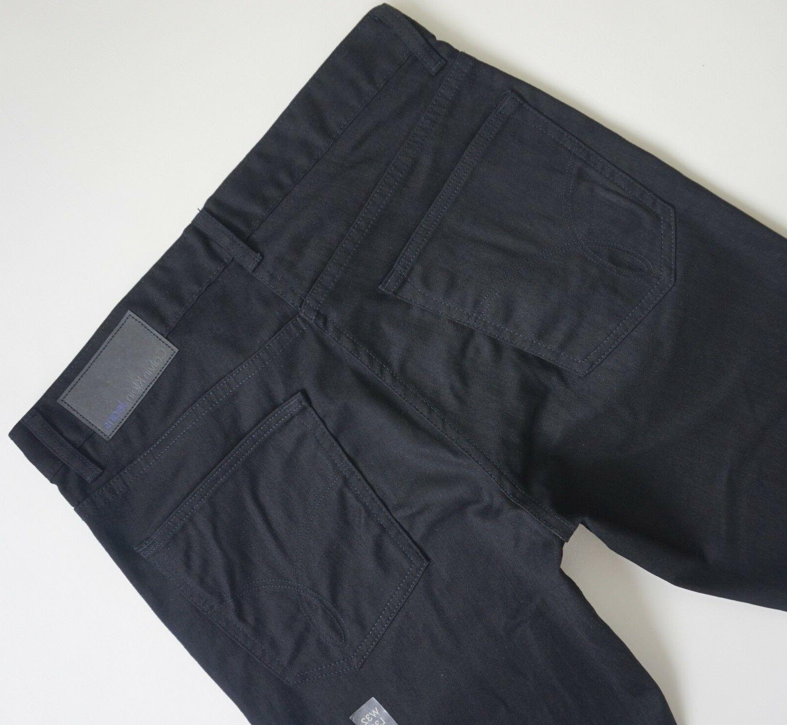slim straight leg black jeans men s