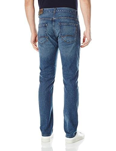 Dickies 5-Pocket Jean, Wash Stretch Indigo, 30Wx30L