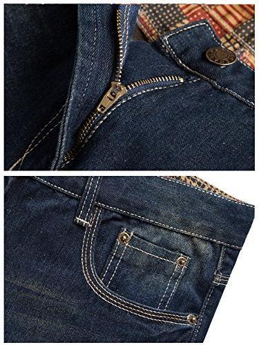 FEESON Straight Leg Slimming Loose Denim Jeans W36