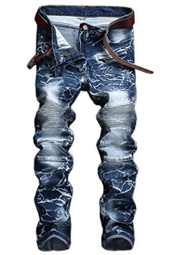stylish camo straight fit stitching