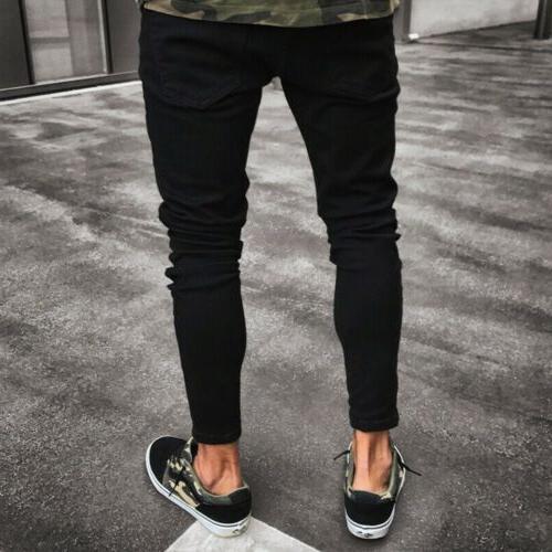 Stylish Men's Jeans Slim Fit Denim