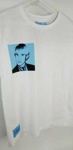 Calvin Klein Jeans X Andy Warhol T Shirt tee Pullover Men M