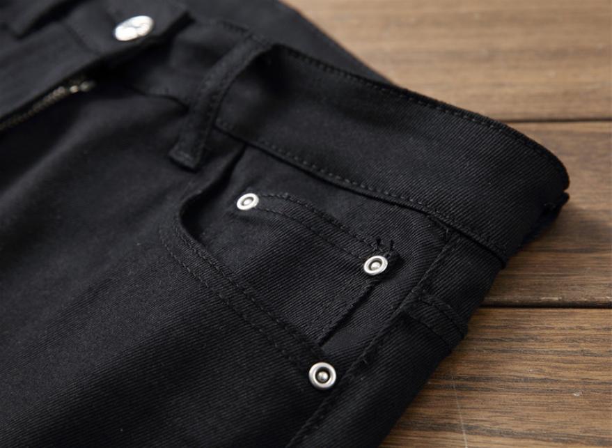 US Slim Denim Pants Stretchy Skinny Jeans