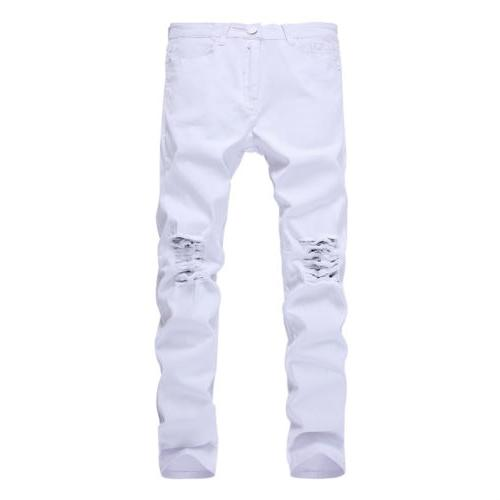 Men's Slim Stretch Denim Skinny Trousers