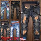 us stock men ripped biker jeans destroyed