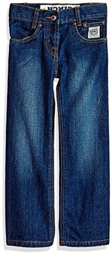 Cinch Little Boys' White Label Slim Jeans, Dark Stone Wash,