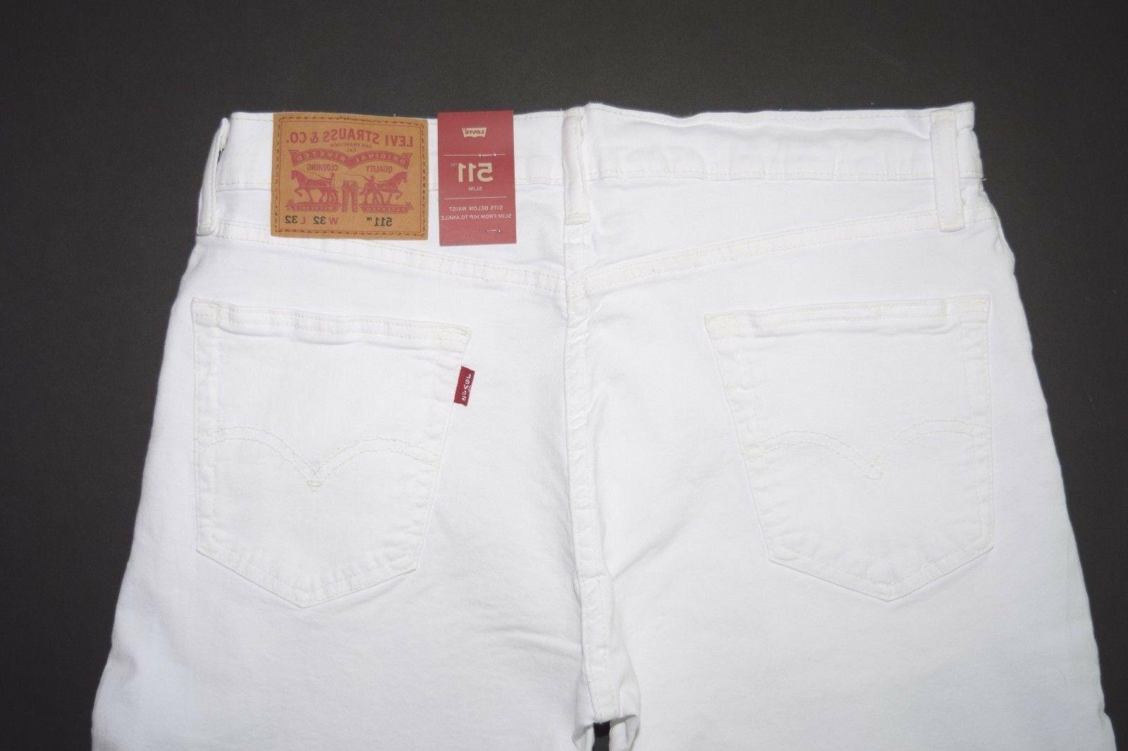WHITE Levi's Jeans: 045111943