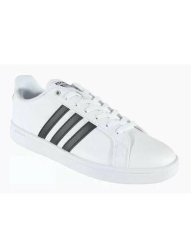 didas Women's Shoes | Cloudfoam Advantage Sneakers, Black/White,