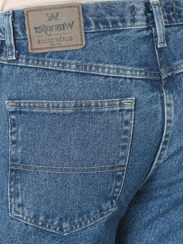 Wrangler 5-Pocket Jean,Stonewash Dark,34x28