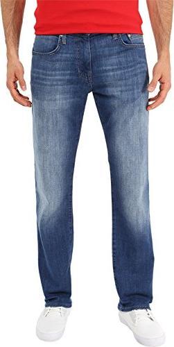 Mavi Jeans Men's Zach Classic Straight Leg In Dark Aqua Dark