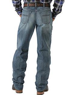 Cinch Men's Label 2.0 Medium Wash Jeans Med Stone 38W x 36L