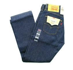 Levi's 501 Jeans Men's Shrink To Fit Straight Leg Denim Jean