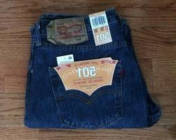 Levi's 501 Original Fit Straight Leg Button Fly Men's Jeans,