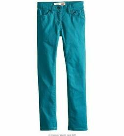 Levi's 510    Boys Skinny-Fit Stretch Jeans   Turquoise  New