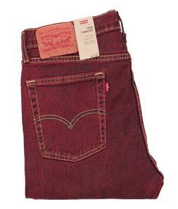 Levi's 510 Skinny Stretch Tea Rose Red Jeans