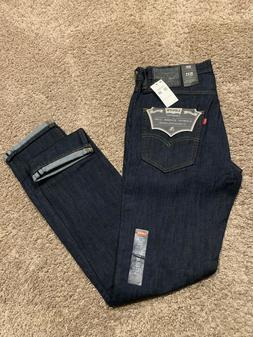 Levi's 511 Commuter Slim fit Blue Men's Jeans Size 32X36 NWT
