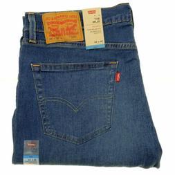 Levi's 511 Men's Jeans 36x34 Blue Stretch Denim Cool Max Per