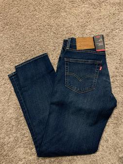 Levi's 511 Premium Jeans Blue Slim Stretch Men's Size 30X30