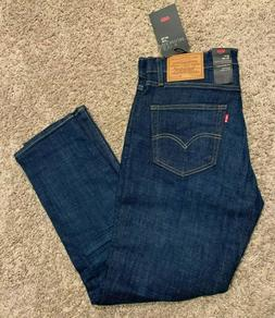 Levi's 511 Premium Slim Fit Stretch Blue Jeans Men's Sizes N