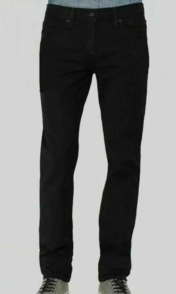 Levi's 511 Slim Black Denim Stretch Low-Rise Pants Sizes 28,