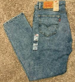 Levi's 511 Slim Fit Stretch Jeans Light Faded Blue Men's Man