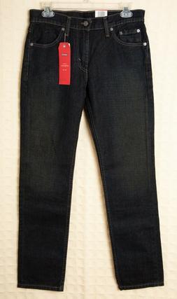 LEVI'S 511 Slim Jeans Men's STRETCH Cotton Denim Clean Dark