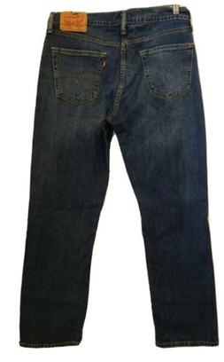 Levi's 514 Men's 34x30 Straight Fit Jeans With Stretch Mediu