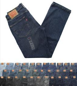 Levi's 514 Men's Straight Fit Denim Jeans Classic Blue Jean