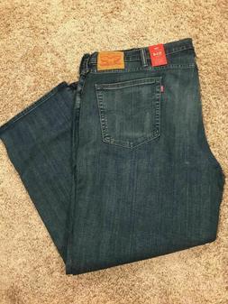 Levi's 514 Regular Fit Stretch K-Town Jeans Big Tall Mens Si