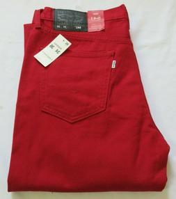 Levi's 541 Athletic Fit Red Men Jeans  34 X 36