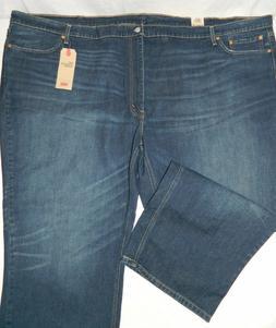 Levi's 541 Athletic Taper Stonewashed Denim Blue Jeans Tag W