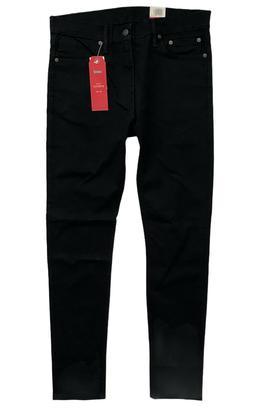 Levi's Levis Nwt Mens 510 Skinny Solid Black Denim Jeans 055